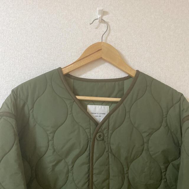 FREAK'S STORE(フリークスストア)の◎FREAK'S STORE キルティングジャケット レディースのジャケット/アウター(ノーカラージャケット)の商品写真