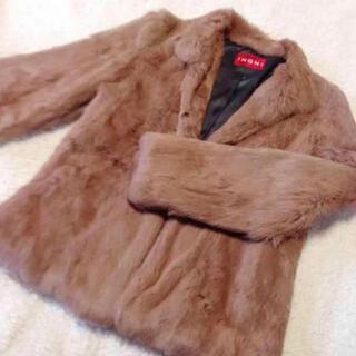 イング(INGNI)のINGNI ラビットファージャケットコート(毛皮/ファーコート)