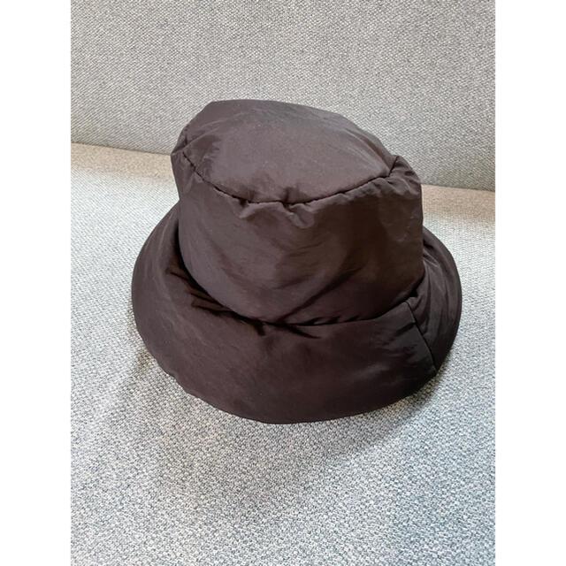 ZARA(ザラ)のZARA キルティングバケットハット レディースの帽子(ハット)の商品写真