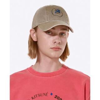 メゾンキツネ(MAISON KITSUNE')のADER ERROR Kitsune Triple fox head cap(キャップ)
