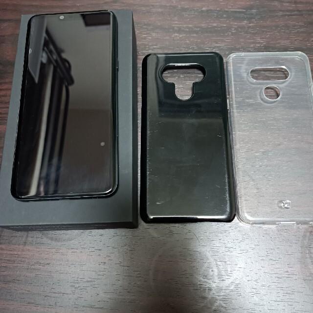 LG Electronics(エルジーエレクトロニクス)のmmさん専用 LG-style3 L−41A ミラーブラック スマホ/家電/カメラのスマートフォン/携帯電話(スマートフォン本体)の商品写真
