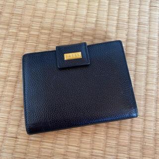 バリー(Bally)のBALLY バリー 二つ折り財布 ブラック(財布)