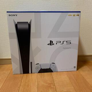 プレイステーション(PlayStation)のPlayStation5 プレステ5 ディスクドライブ搭載版 新品未開封品(家庭用ゲーム機本体)
