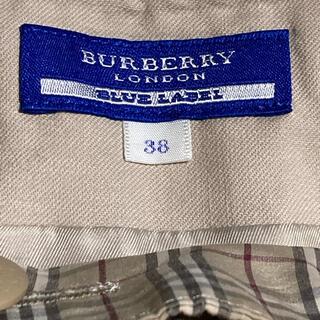 バーバリーブルーレーベル(BURBERRY BLUE LABEL)のBLUE LABEL BURBERRYチェック柄スカート(ミニスカート)