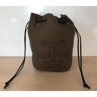 メゾンドリーファー(Maison de Reefur)のメゾンドリーファー 巾着バッグ(ハンドバッグ)