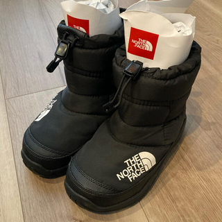 THE NORTH FACE - ノースフェイス THE NORTH FACE ヌプシ ブーティー キッズ 21㎝