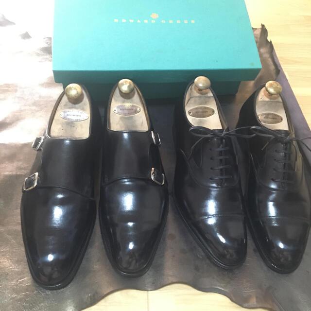 EDWARD GREEN(エドワードグリーン)のエドワードグリーン EDWARD GREEN 2足 メンズの靴/シューズ(ドレス/ビジネス)の商品写真