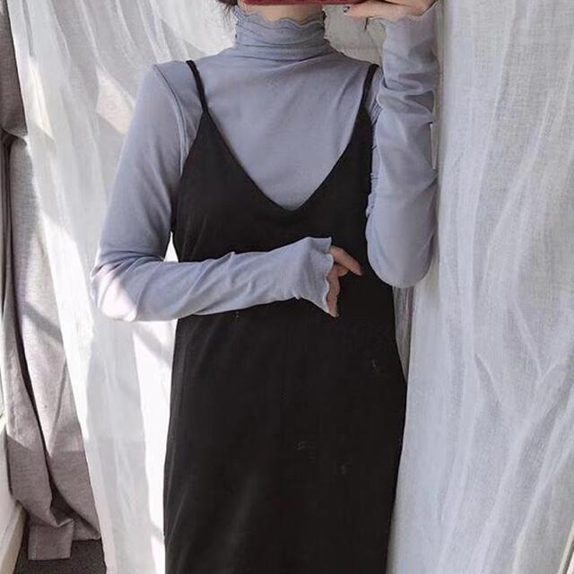 ZARA(ザラ)のシアーハイネックブラウス レディースのトップス(カットソー(長袖/七分))の商品写真