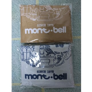 mont bell - モンベル montbell40周年記念エコバッグ 2点セット