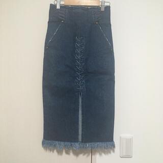 mame - mame 16ss デニムスカート