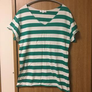 グリーンレーベルリラクシング(green label relaxing)のユナイテッドアローズ ボーダー Tシャツ カットソー(Tシャツ(半袖/袖なし))