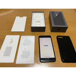 Apple - iPhone8plus/64G/simフリー/ガラス保護フィルム&ケース付