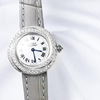 Cartier - 【仕上済】カルティエ トリニティ シルバー ダイヤ レディース 腕時計