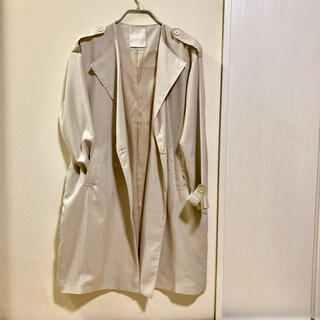 dazzlin - 着用1回美品 dazzlin  トレンチコート  ノーカラーニュアンスコート