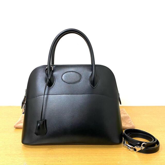 Hermes(エルメス)のHERMES エルメス ボリード31 2WAY ハンドバッグ 黒 ☆セリーヌ レディースのバッグ(ハンドバッグ)の商品写真