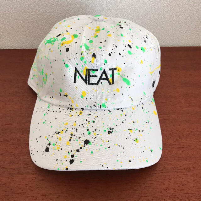 COMOLI(コモリ)の【ソネ様専用】NEAT paint cap メンズの帽子(キャップ)の商品写真