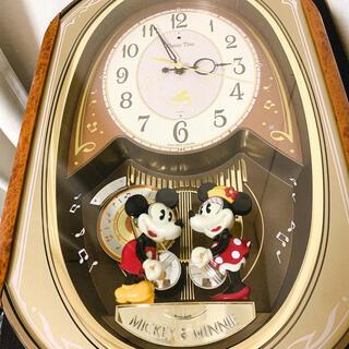 セイコー(SEIKO)の☆ レア ☆ ディズニータイム SEIKO ミッキー&ミニー からくり時計(掛時計/柱時計)