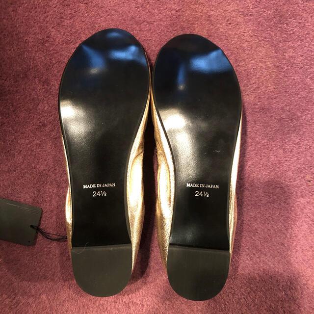 ANNA SUI(アナスイ)の【新品タグ付き】malla パンプス バレエシューズ 24.5cm レディースの靴/シューズ(バレエシューズ)の商品写真