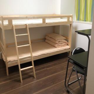 二段ベッド(すのこベッド)