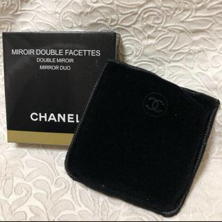CHANEL - シャネル CHANEL ミラー 鏡 コンパクトミラー 未使用