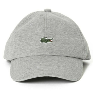 ラコステ(LACOSTE)のLACOSTE BEAMS 別注 GOLF GREY CAP スウェット(キャップ)
