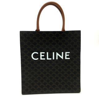celine - 新品同様 CELINE セリーヌ トリオンフ バーティカルカバ トートバッグ