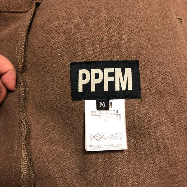 PPFM(ピーピーエフエム)のPPFM コート メンズのジャケット/アウター(ピーコート)の商品写真