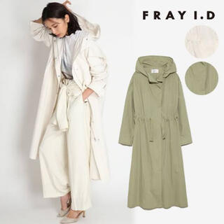 FRAY I.D - FRAY I.D ウエストリボンモッズコート
