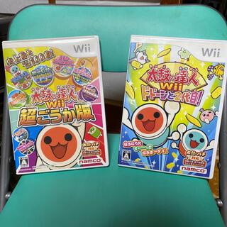 Wii - 太鼓の達人Wii 超ごうか版 Wii  &太鼓の達人Wiiドドーンと2代目