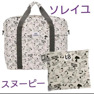 SOLEIL - ☆新品&タグ付☆スヌーピー ソレイユ ラージボストンバッグ