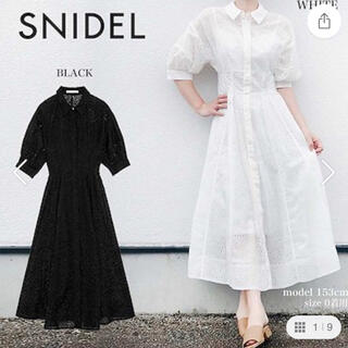 snidel - SNIDEL☆ドルマンコルセットミドルワンピース