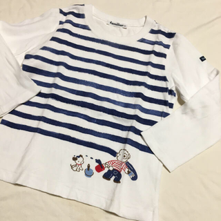 familiar - familiar ファミリア 長袖Tシャツ
