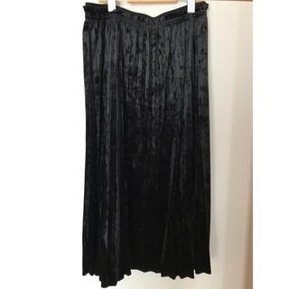 コムサイズム(COMME CA ISM)のコムサイズム プリーツスカート(ロングスカート)