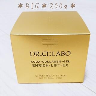 Dr.Ci Labo - *NEW*アクアコラーゲンゲルエンリッチリフトEX200g+金のマスク付き