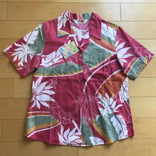 マンゴ(MANGO)の激レア!新品タグ付きMANGO沖縄メイドアロハシャツ(シャツ/ブラウス(半袖/袖なし))