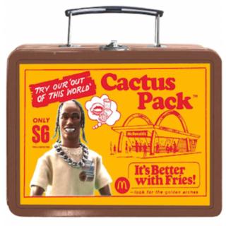 CACTUS - トラヴィス・スコット【CACTUS JACK】 ヴィンテージ・ランチ・ボックス