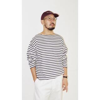 COMOLI - 【美中古】LE バスクシャツ WIDE M エルイー L'ECHOPPE