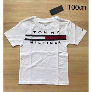 TOMMY HILFIGER - 【新品タグ付き】 トミーヒルフィガー グラフィックプリントTシャツ100