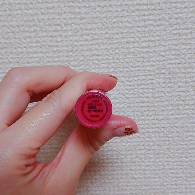 MISSHA(ミシャ)のオピュ ジューシーパン ティント  CR04 コスメ/美容のベースメイク/化粧品(口紅)の商品写真