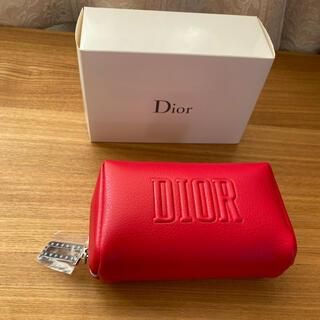 Christian Dior - Diorのレッドポーチ