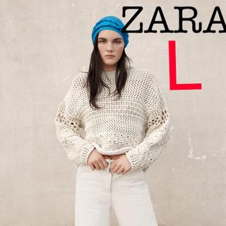 ZARA - ZARA テクスチャーニットセーター ZARAニット TODAYFUL