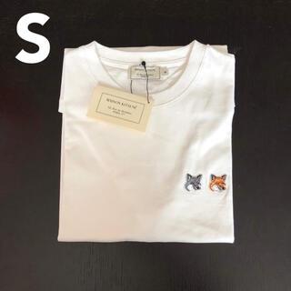 MAISON KITSUNE' - メゾンキツネ Tシャツ ダブルフォックス S