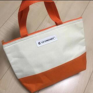 ルクルーゼ(LE CREUSET)の☆新品☆ LE CREUSET ル・クルーゼ 保冷バッグ お弁当バッグ オレンジ(弁当用品)