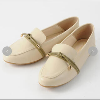 シマムラ(しまむら)のしまむら TERA  ソフトローファー 淡白 M(ローファー/革靴)