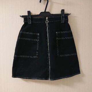 ムルーア(MURUA)のムルーア ミニスカート ブラック(ミニスカート)