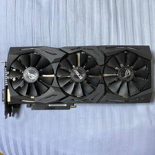 エイスース(ASUS)のASUS RADEON VEGA56 ROG STRIX(PCパーツ)