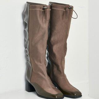 juemi Cord Demi Boots