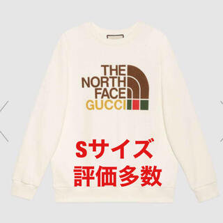 Gucci - GUCCI  THE NORTH FACE  スウェット Sサイズ