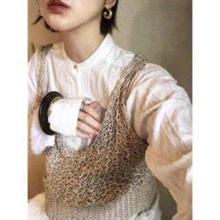 TODAYFUL - todayful  Linen Knit Bustier