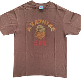 アベイシングエイプ(A BATHING APE)のア ベイシング エイプ スワロフスキー Tシャツ BAPE sta ベイプスタ(Tシャツ/カットソー(半袖/袖なし))